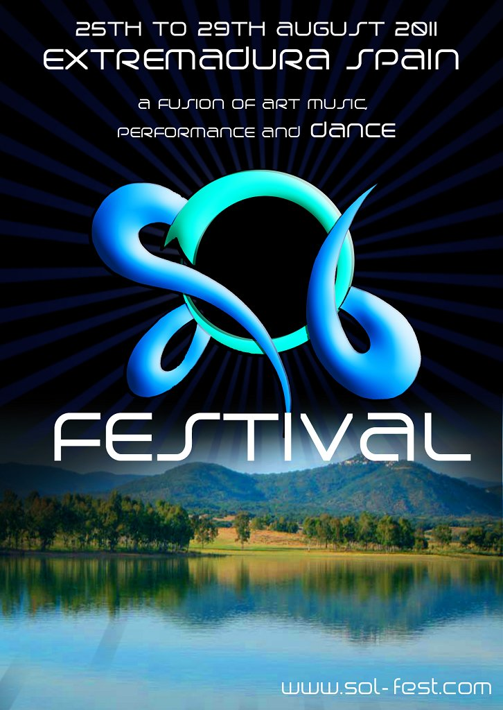 2011.08.25/29 - Sol Festival - 25th to 29th August 2011 - SPAIN Flyer1